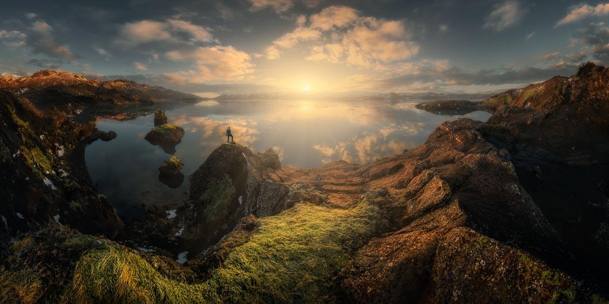 viaggio fotografico islanda tramonto