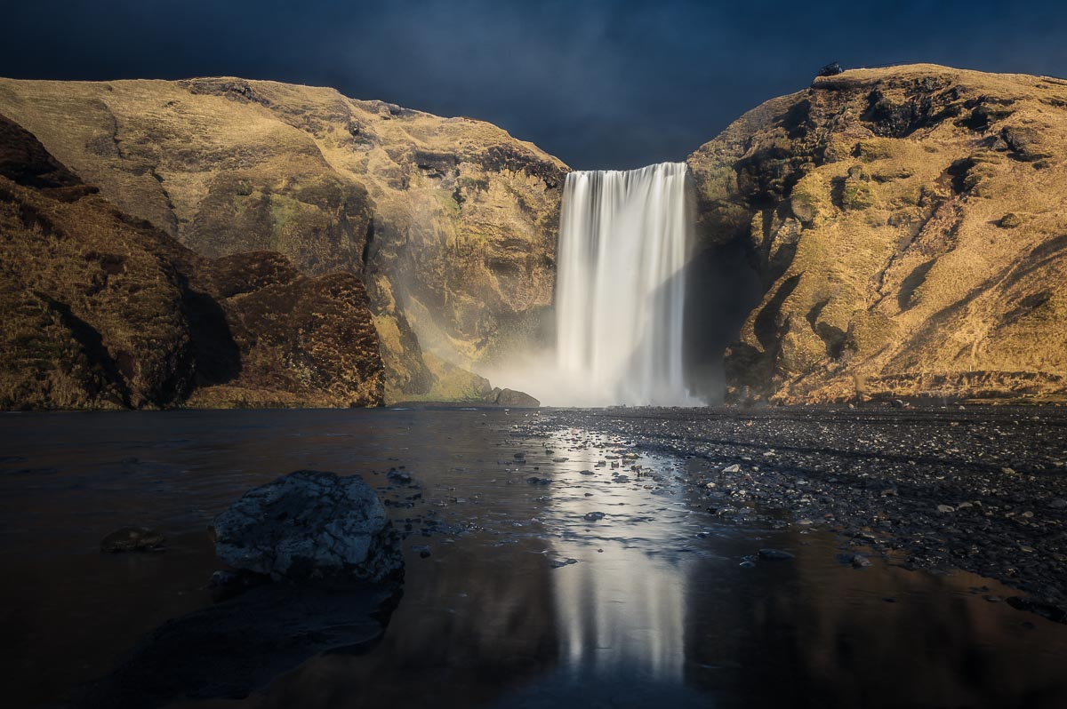 viaggio fotografico islanda cascata skogafoss