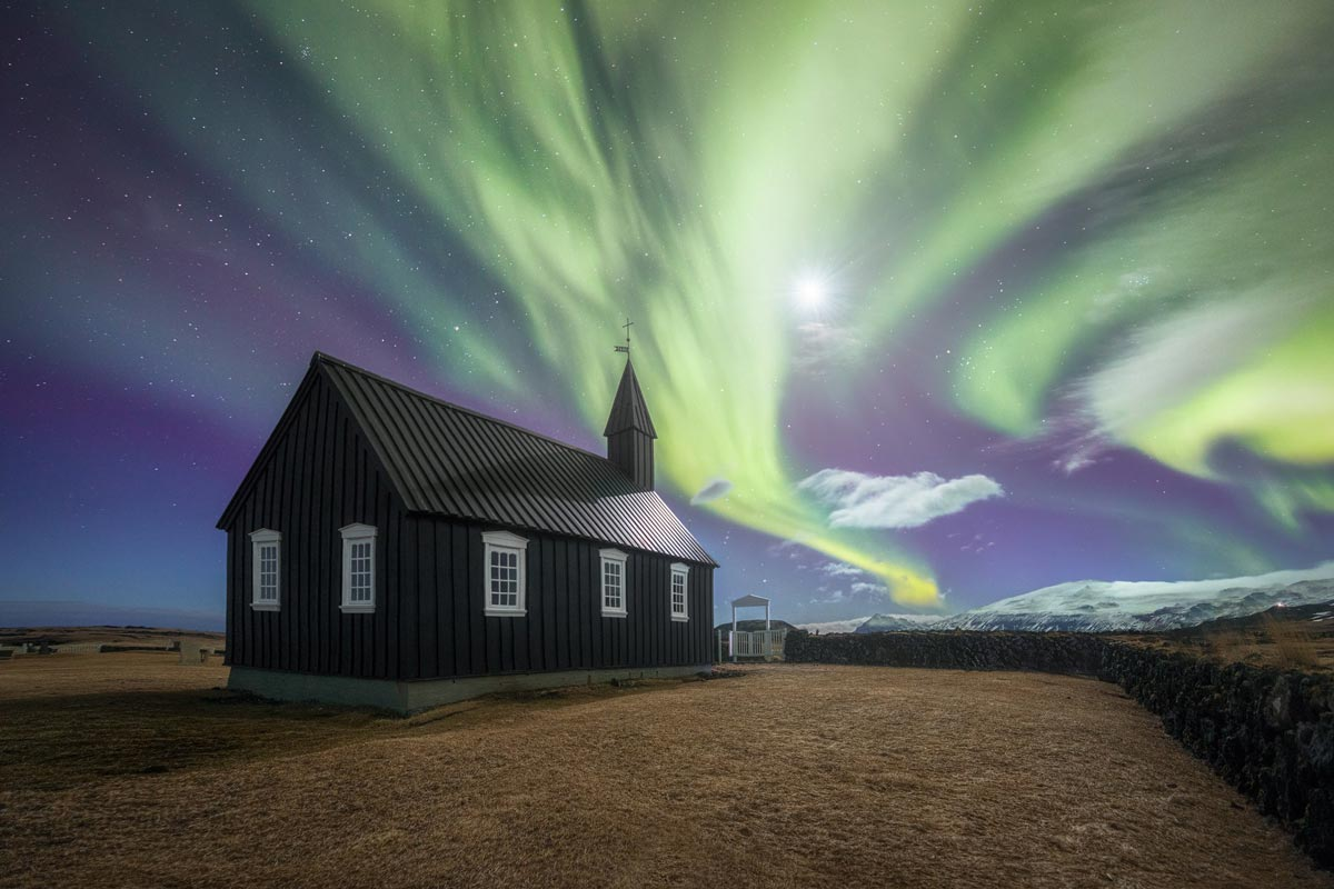 viaggio fotografico islanda aurora boreale
