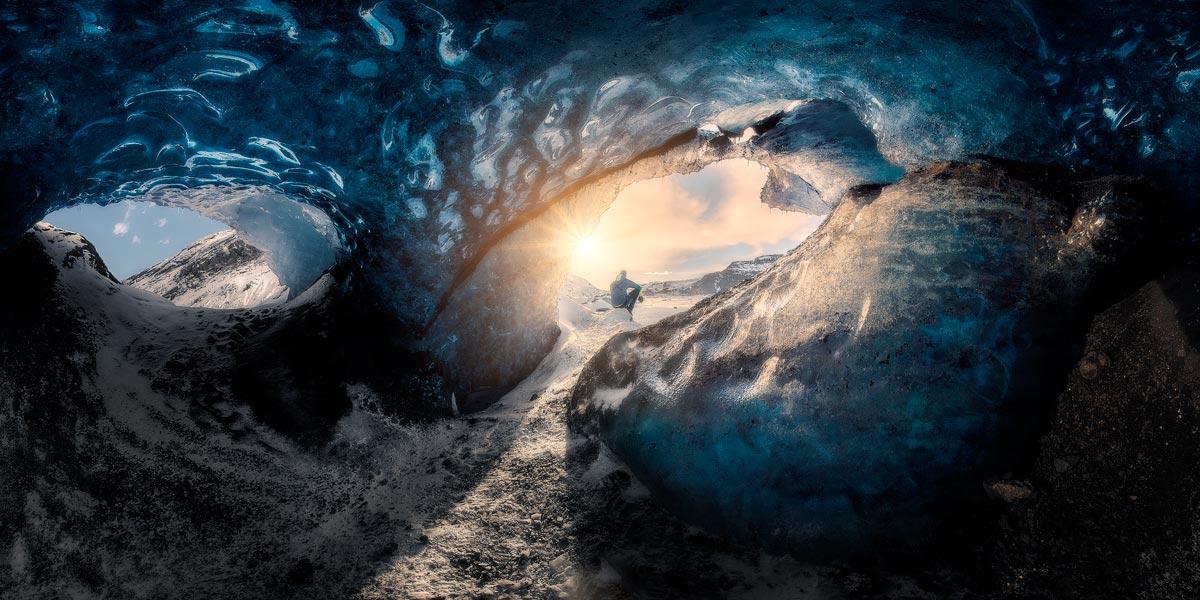 viaggio fotografico islanda cava di ghiaccio