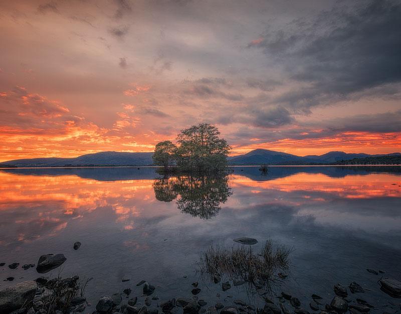 viaggio fotografico scozia tramonto